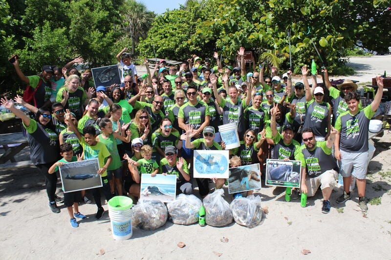 Cruise Planners Beach Clean Up