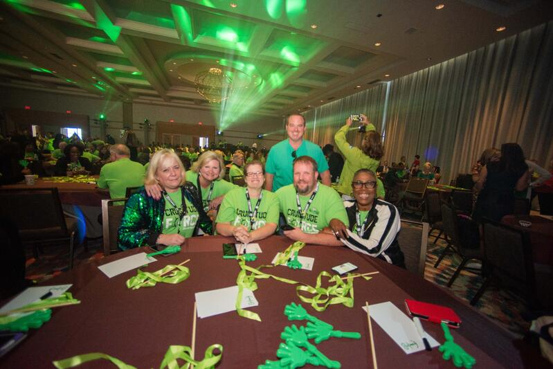 Cruise Planners Travel Agents at Convention