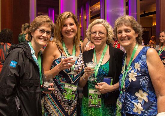Cruise Planners franchise owners come together at the Annual Cruise Planners Convention