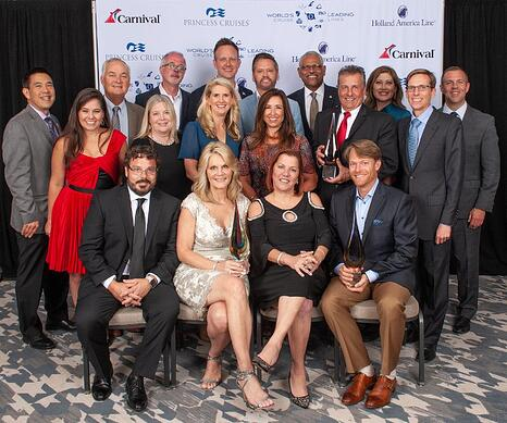 Cruise Planners Recognized at Carnival Corporations Excellence Awards