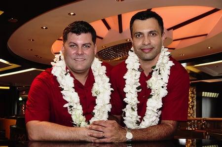 Francisco LGBT Wedding Celebrity Cruises Cruise Planners
